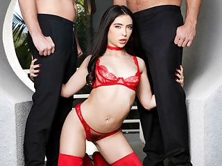 Jane Wilde gets her holes plugged by Mick Blue & Ramon Nomar